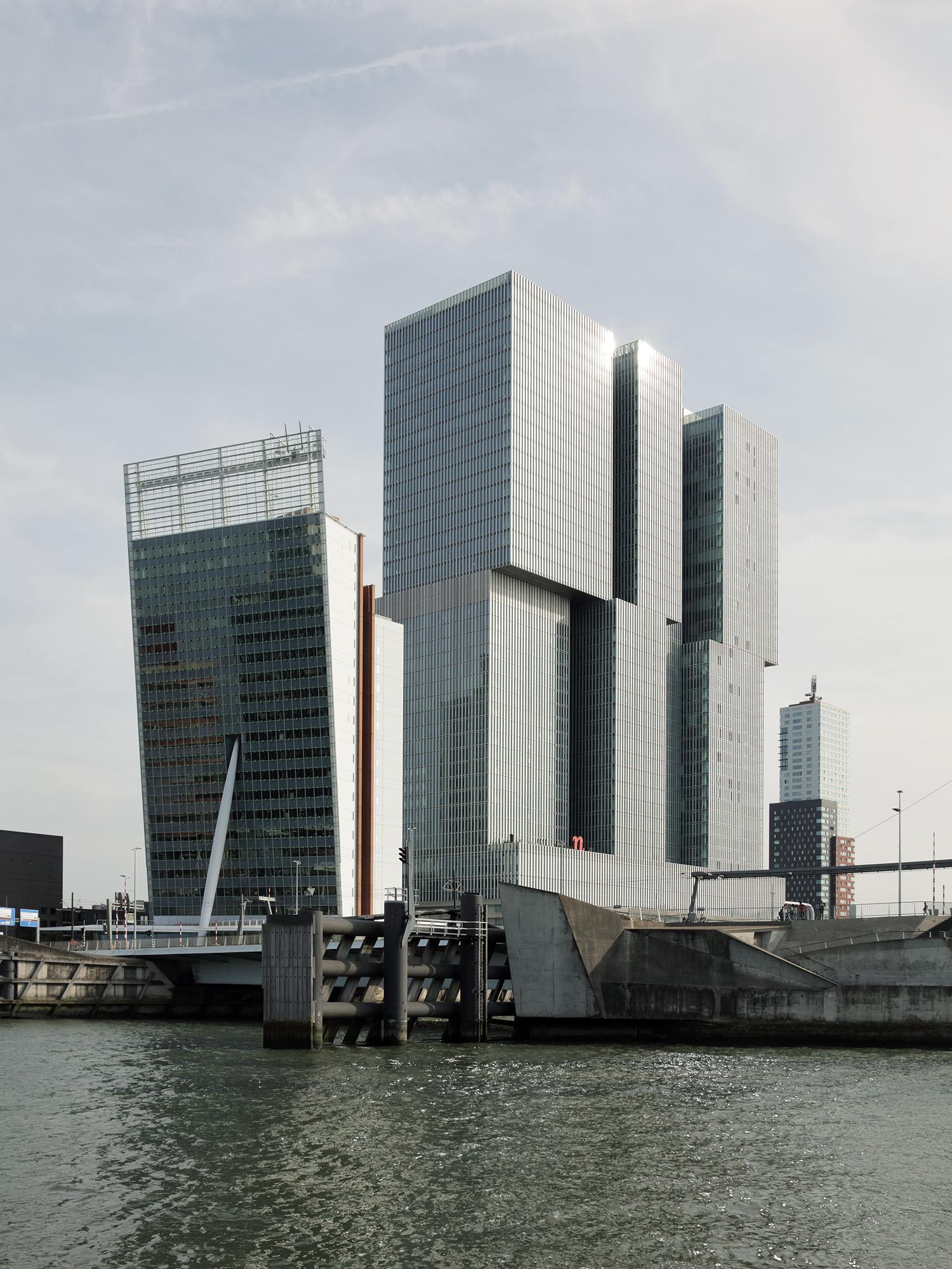 De Rotterdam OMA-Rem Koolhaas, 2013 Rotterdam, Netherlands