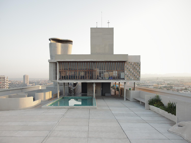 Unité d'habitation Le Corbusier, 1951 Marseille