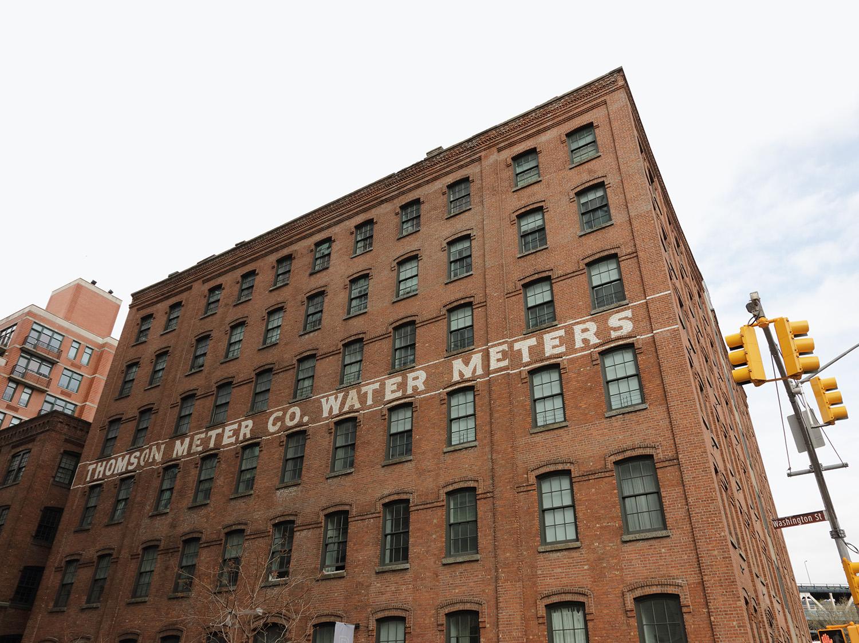 old industrial building — Brooklyn